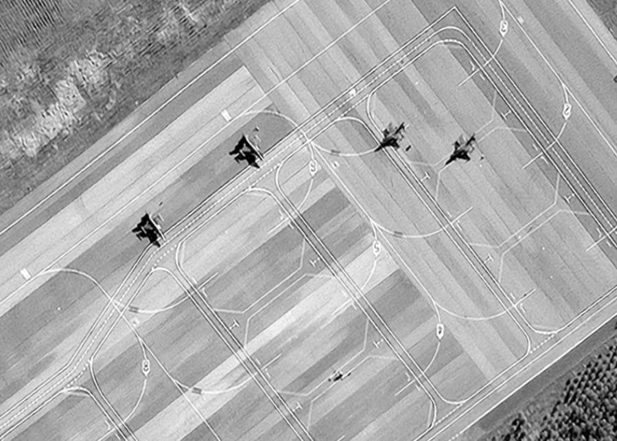 Թուրքական F-16 կործանիչները Գաբալայի օդանավակայանում